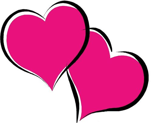 500x403 Valentine Hearts Clip Art Image Of Valentine Heart Clipart 7