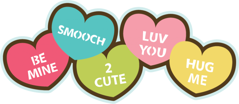 800x349 Candys Heart Clipart, Explore Pictures