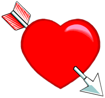348x324 Arrow Clipart Valentine