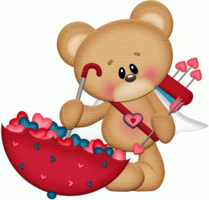 Valentine Teddy Bear Clipart