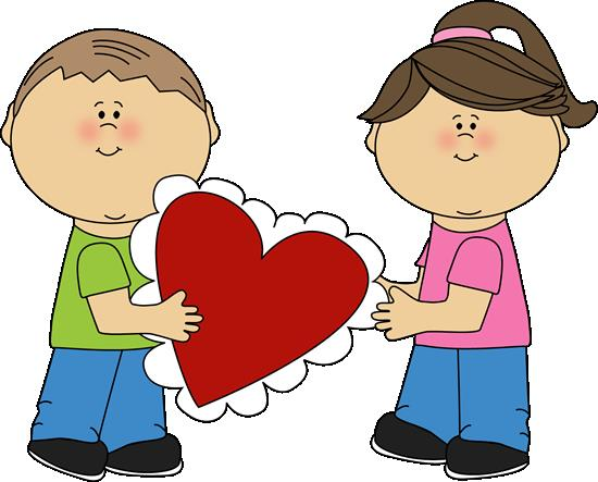 550x443 Happy Valentines Day Clipart For Kids – Quotes amp Wishes for
