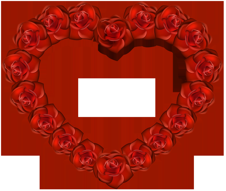 6000x5059 Rose Heart Png Transparent Clip Artu200b Gallery Yopriceville