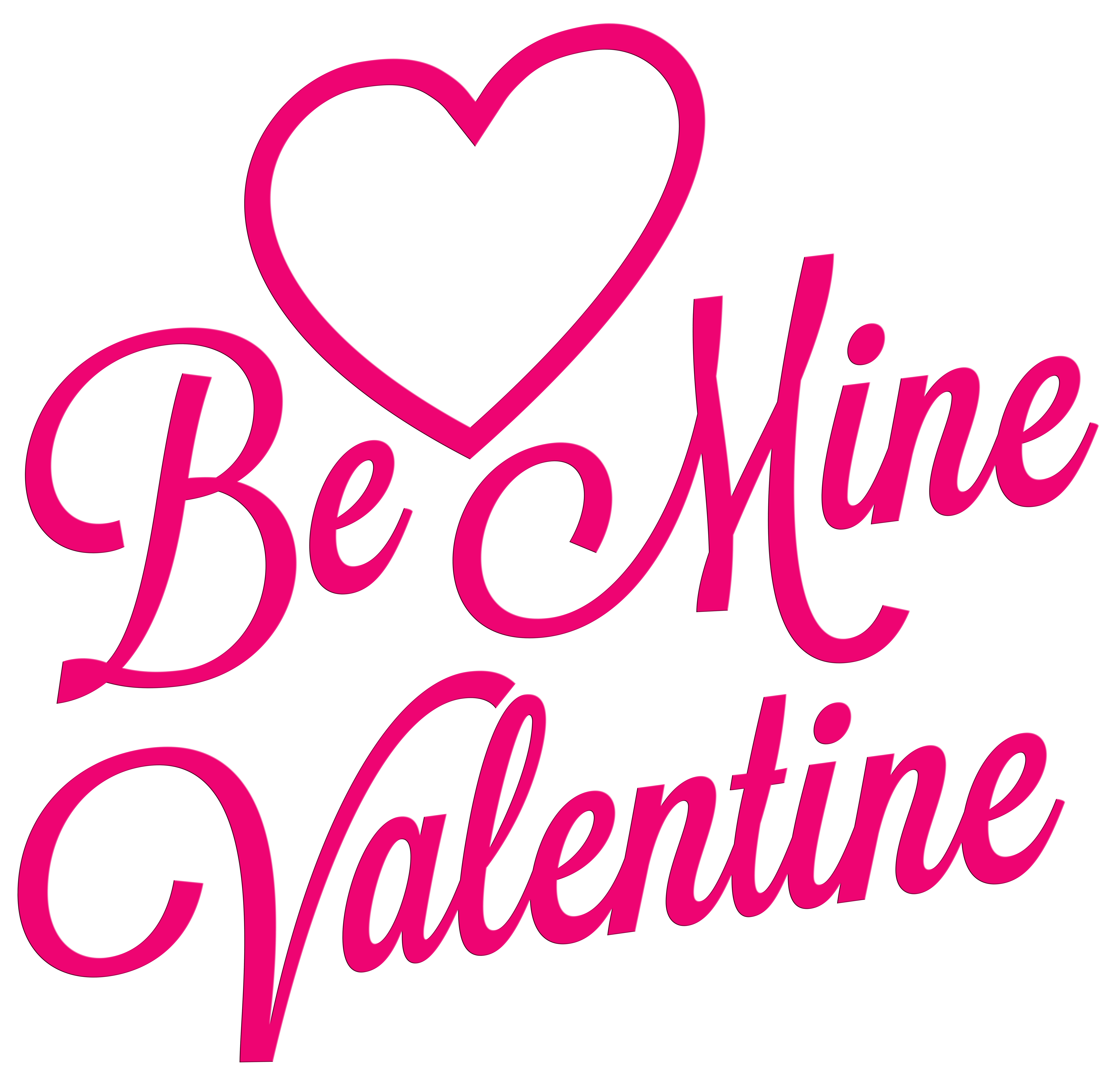 7000x6815 Be Mine Valentine Transparent Png Clip Art Imageu200b Gallery