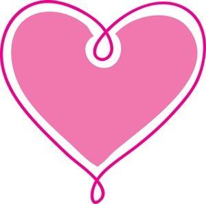 300x298 Heart Outline Clip Art Hearts Clip Art Images Hearts Stock