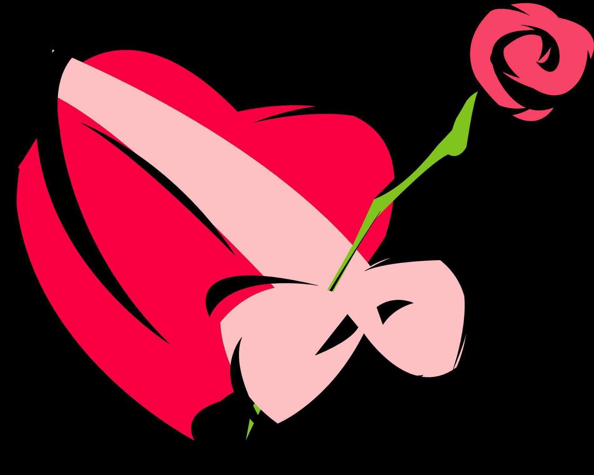 1900x1519 Hearts Free Download Clip Art Valentineus Clipart Symbol Pencil