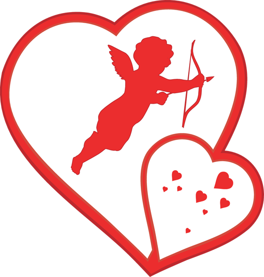 525x550 Image Of Happy Valentines Day Clipart
