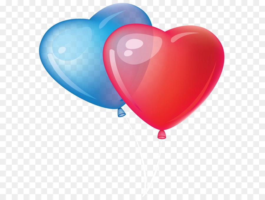 900x680 Balloon Valentine's Day Heart Clip Art