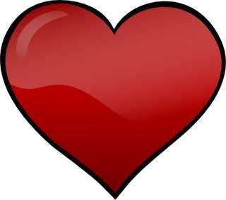 320x284 Love Hearts Clip Art Love Heart Clipart