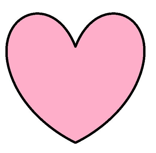 520x510 Pink Valentine Hearts Clip Art
