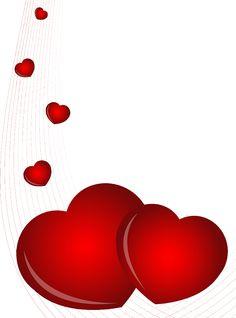 236x318 Valentine's Day Red Hearts Clip Art Clip Art