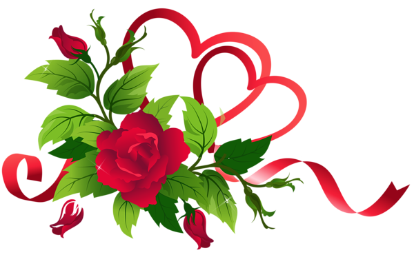 600x373 Transparent Hearts And Roses Decor Wallpapers And More