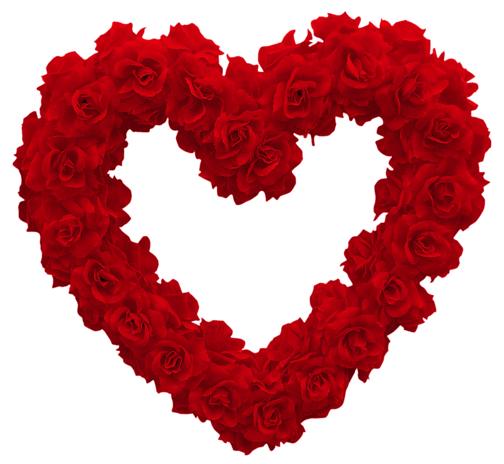 982x904 Transparent Rose Heart Png Clipart Pictureu200b Gallery Yopriceville