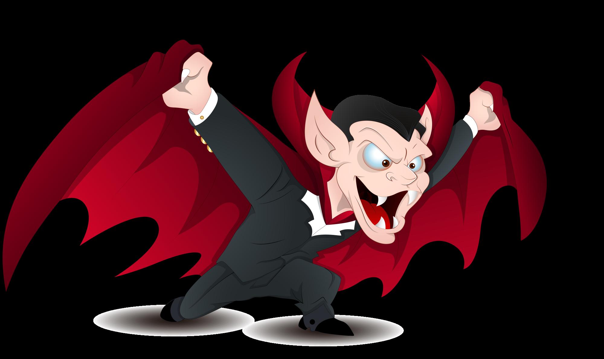 2000x1192 Count Dracula Vampire Royalty Free Clip Art