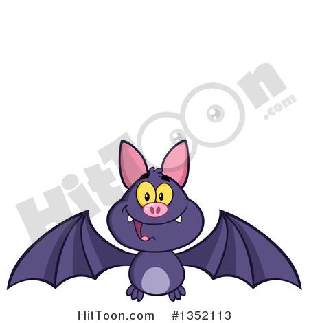 450x470 Flying Bat Clipart