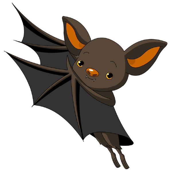 600x600 Little Bat Bats, Clip Art And Animal