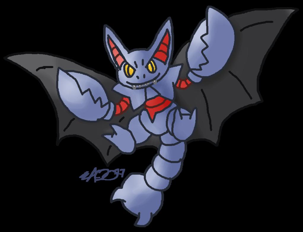 1022x782 Pkmn Vampire Bat Scorpion By Rosa Pegasus