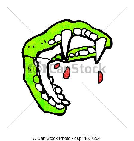 449x470 Cartoon Vampire Fangs Clip Art Vector