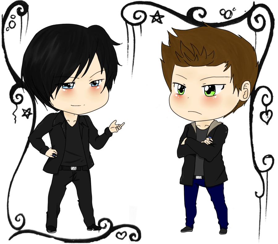 900x790 The Salvatore Brothers  + By Shadowdark1