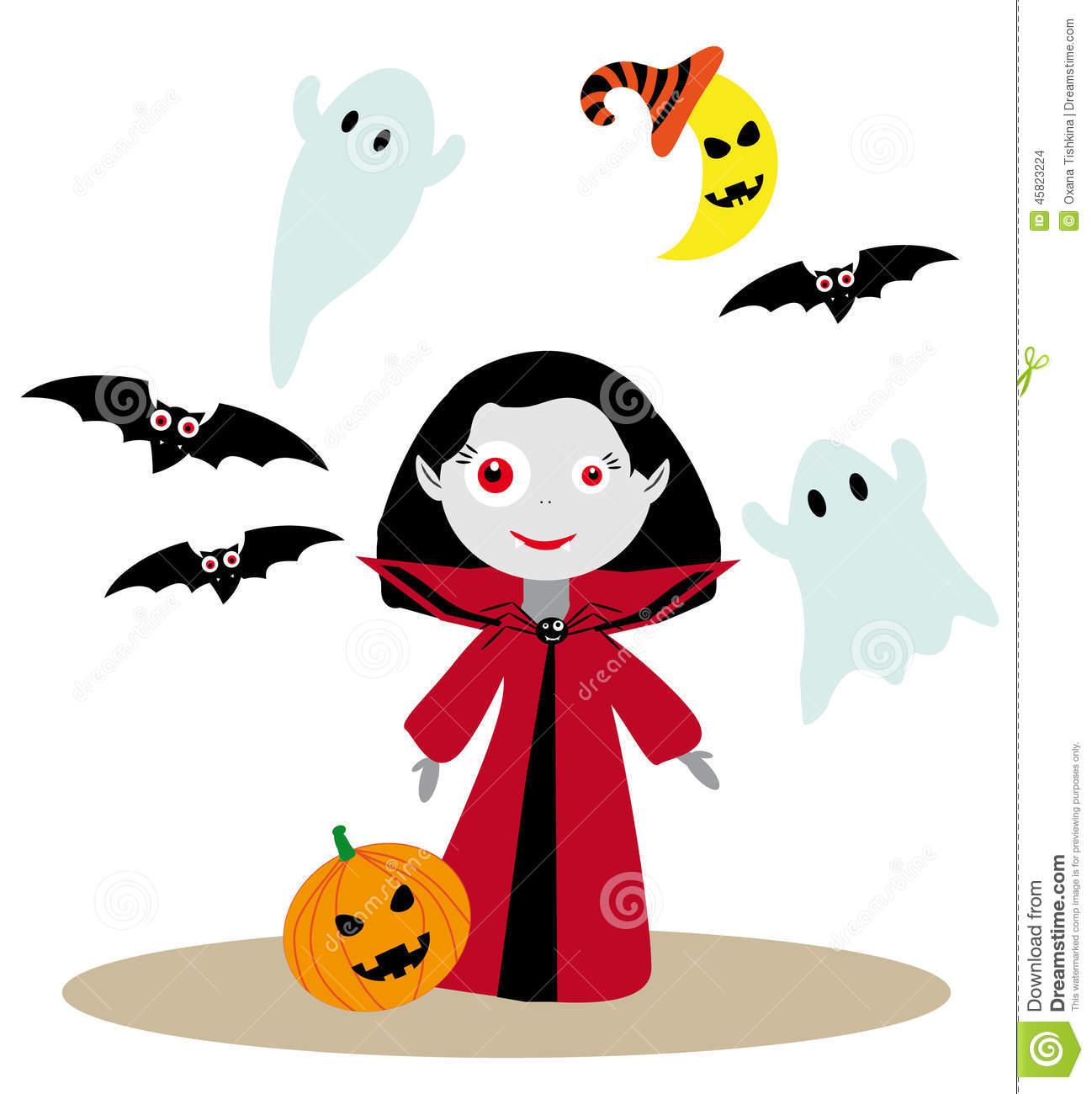 1298x1300 Cute Vampire Girl Clipart