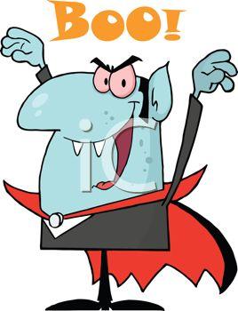 268x350 Royalty Free Cartoon Of A Vampire
