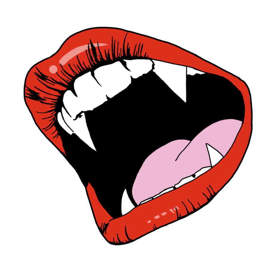894x894 Vampire Fangs By Foxyblues