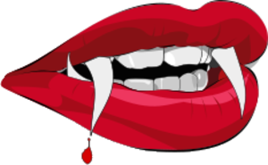 300x185 Vampire Teeth T Free Images