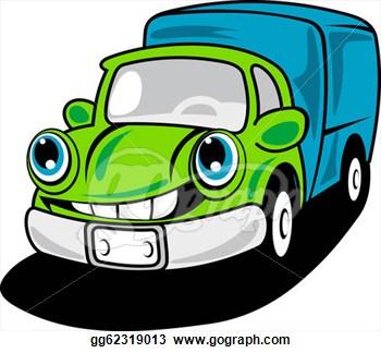 350x324 Clip Art Delivery Van And Road Cliparts