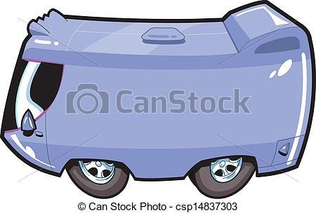 450x304 Van Your Bus With Your Text. Van Tour Bus Cartoon Vector