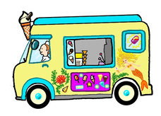 228x164 Ice Cream Van Clipart Seaside Clipart Ice Cream Van 570843
