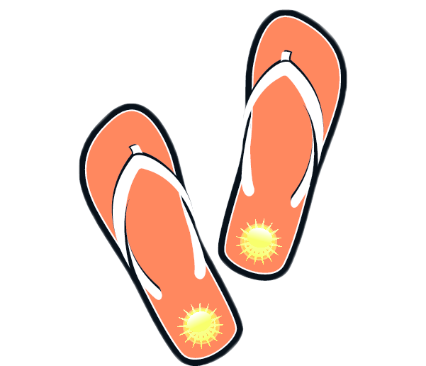 601x516 A Pair Of Shoes Clipart With Color Collection