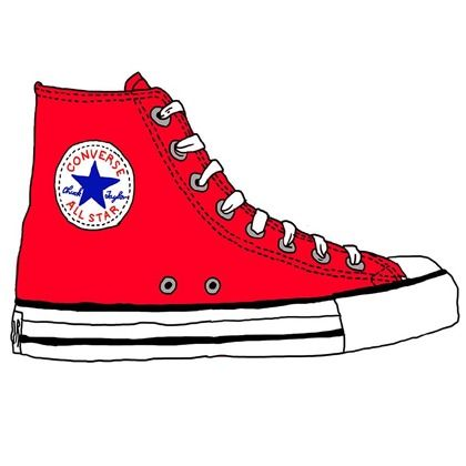 420x420 Best Shoes Converse Illustrations Images On Art