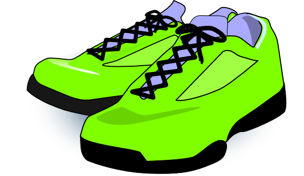 600x348 Green Shoes Cliparts