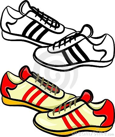 379x450 Trainers Clipart