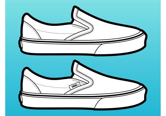 700x490 Vans Vector De Chaussures