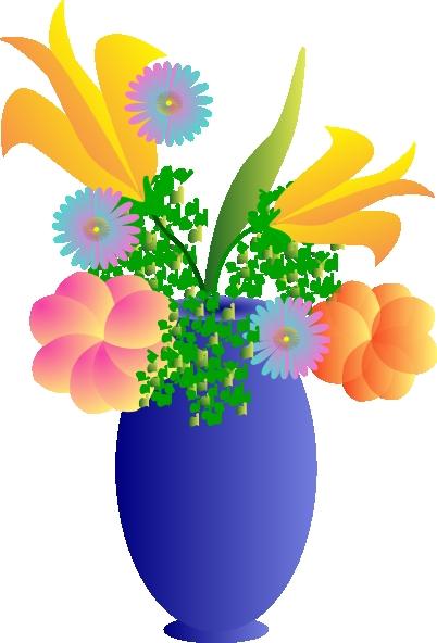 402x592 Flowers Clip Art Vase