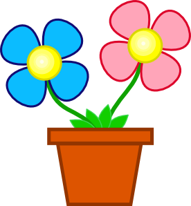 276x298 Flowers In A Vase Clip Art