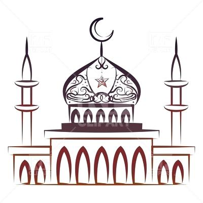 400x400 Mosque Clip Art Ornate Colorful Mosque Download Royalty Free