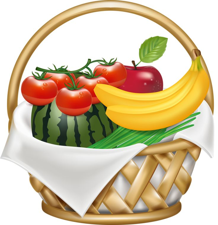 Vegetable Basket Clipart at GetDrawings | Free download