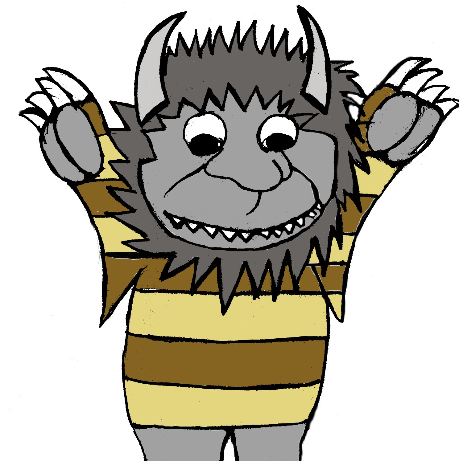 1488x1496 Wild Character Clipart
