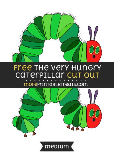 400x550 Free The Very Hungry Caterpillar Cut Out