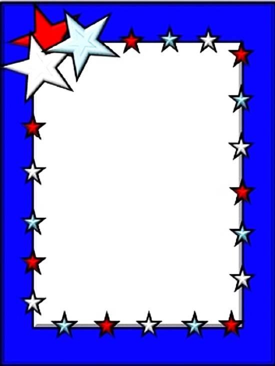 550x733 Veterans Day Border Clip Art