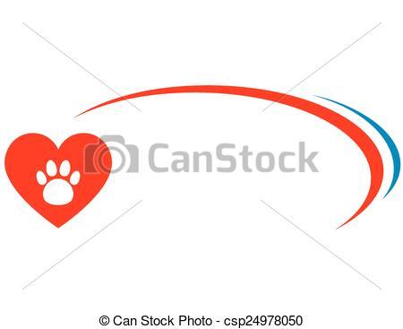 450x367 Veterinarian Background With Heart. Veterinarian Background