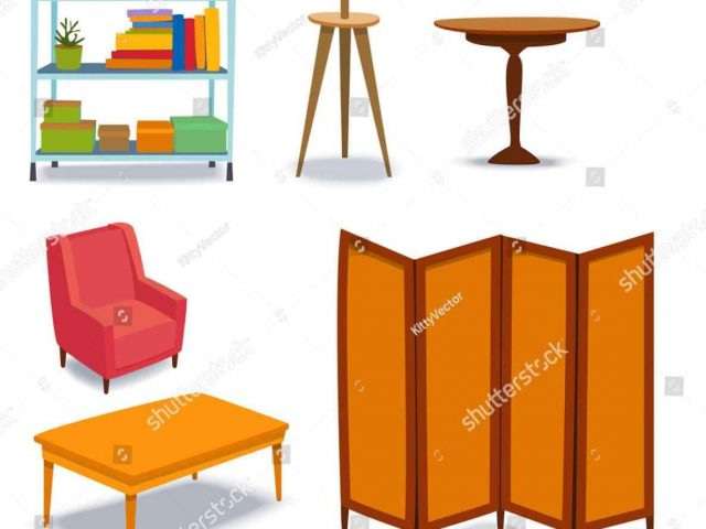 640x480 The Images Collection Of Ohomey Living House Furniture Clipart