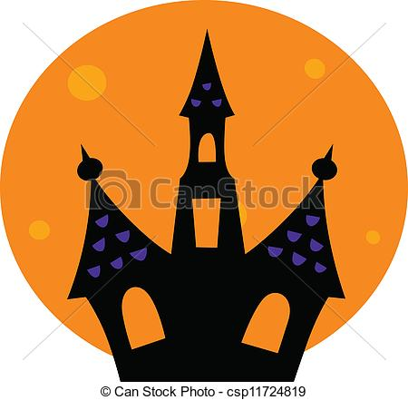 450x441 Top 84 Haunted House Clip Art