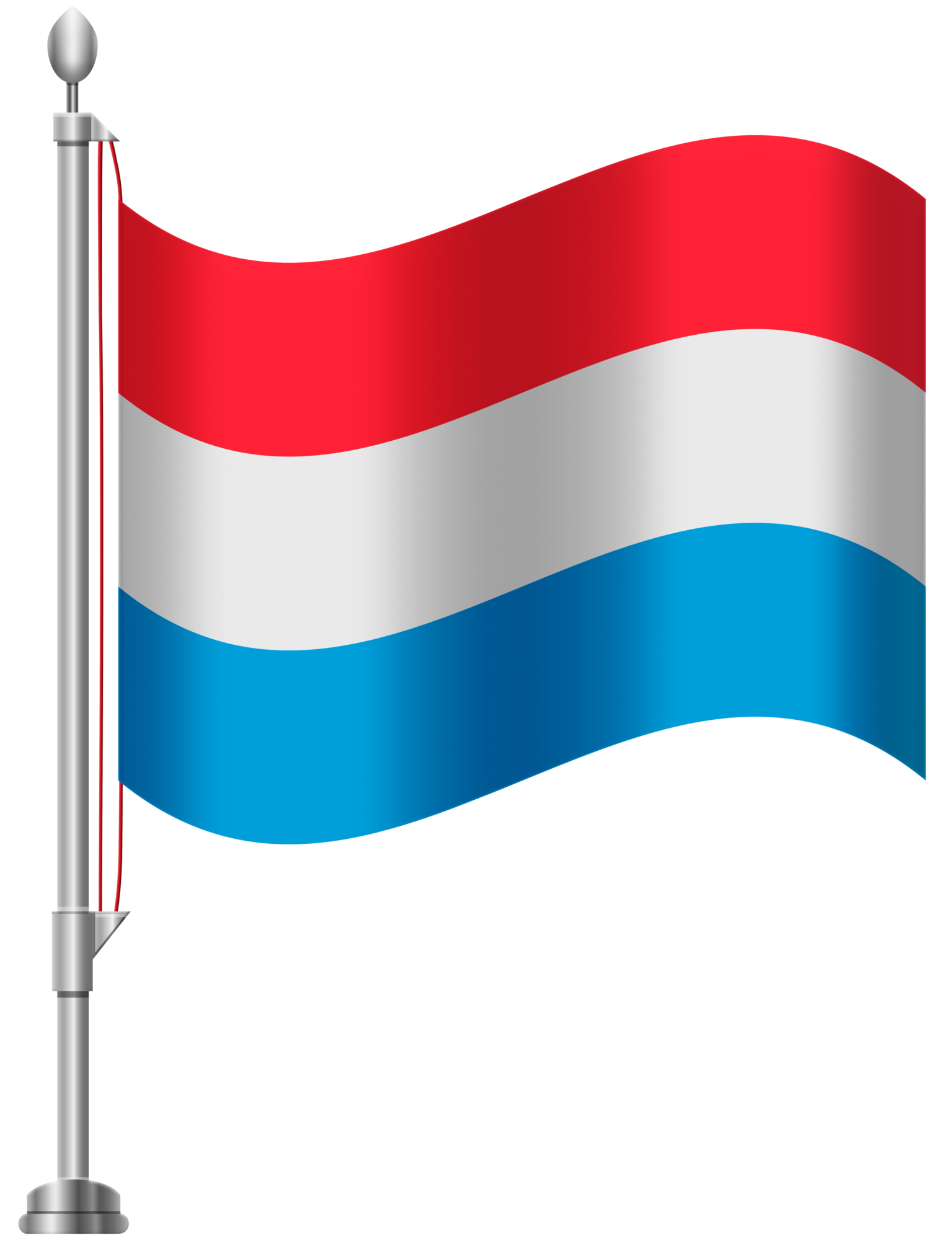 1536x2000 Luxembourg Flag Png Clip Art