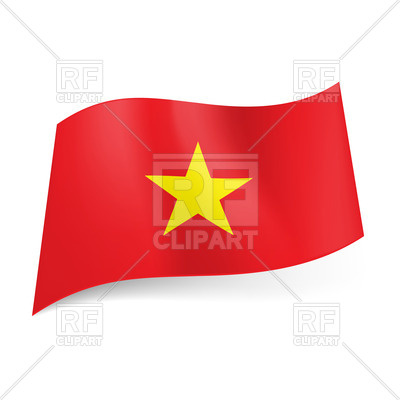 400x400 National Flag Of Vietnam Royalty Free Vector Clip Art Image