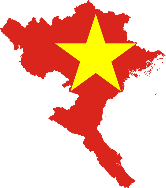 529x600 Fileflag Map Of North Vietnam.svg