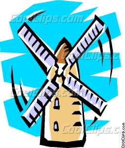 253x300 Windmills Pictures Clip Art