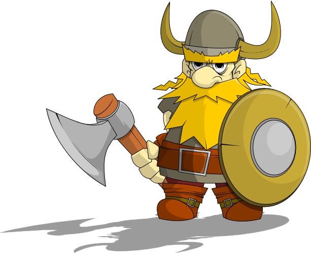 613x498 Free Viking Clip Art Character (Art) Reference