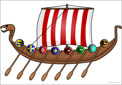 392x275 Viking Clipart Viking Boat Free Collection Download And Share